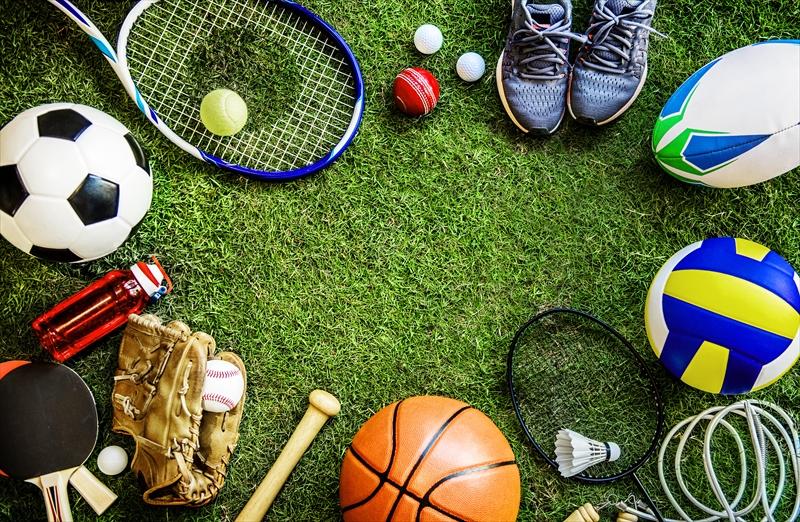 野球用品以外のスポーツ用品も多数取り扱っています